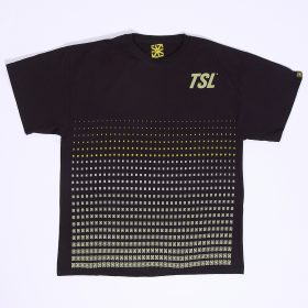 TSL MINI LOGO PATTERN – BLACK - s