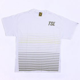 TSL MINI LOGO PATTERN – WHITE - l