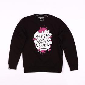 Boogie Down Budapest sweatshirt - Black/purple - l