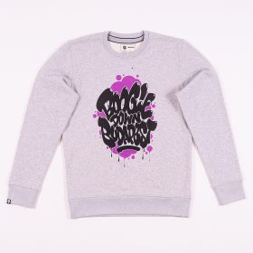 Boogie Down Budapest sweatshirt - Grey/purple - l