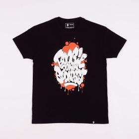 Boogie Down Budapest tshirt - black/orange - l
