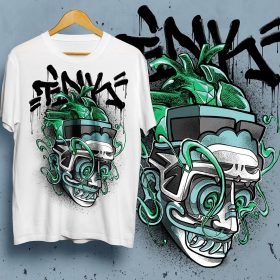 TINK Support Tee - Design by: Fork4 - l